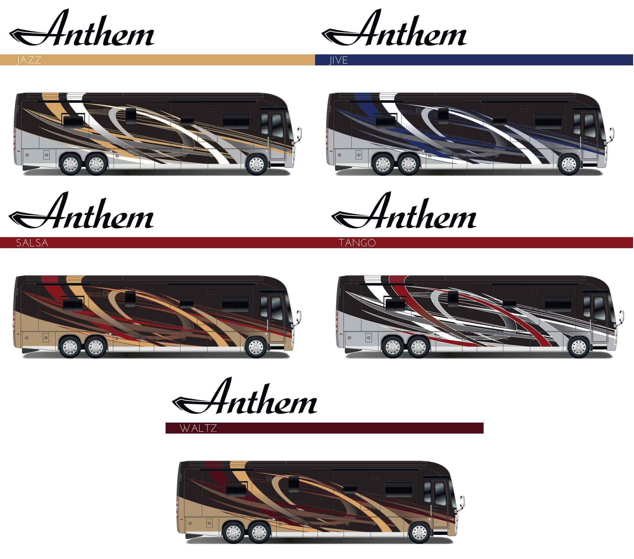 Exciting New Paint Schemes Will Add a Splash of Elegance to