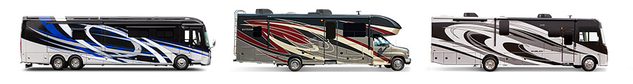 entegra coach luxury class A and C motorhomes