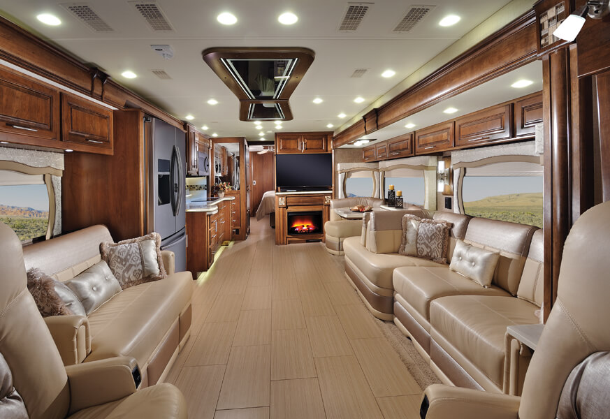 2016 Aspire Luxury Motorhome Entegra Coach