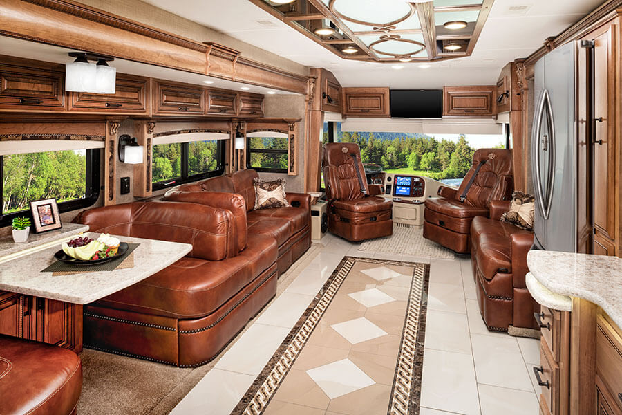 Cornerstone Luxury Rv From Entegra Coach