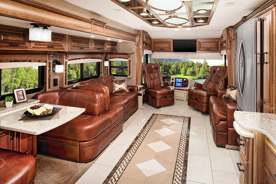 Cornerstone Luxury Rv From Entegra Coach