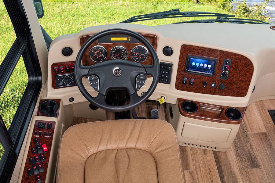 2017 insignia luxury class a motorhome entegra coach for Insignia interior design decoration