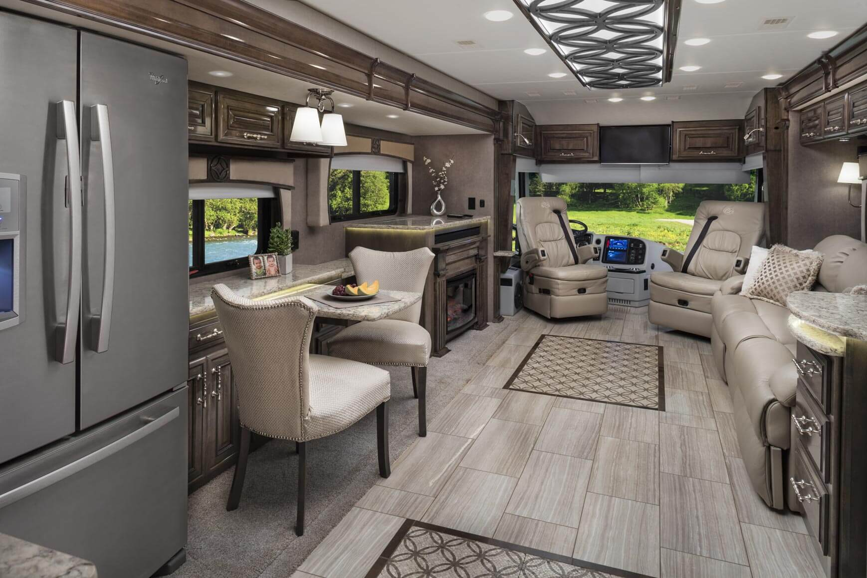 2018 cornerstone luxury class a motorhome entegra coach for Interior design bedroom ideas 2018
