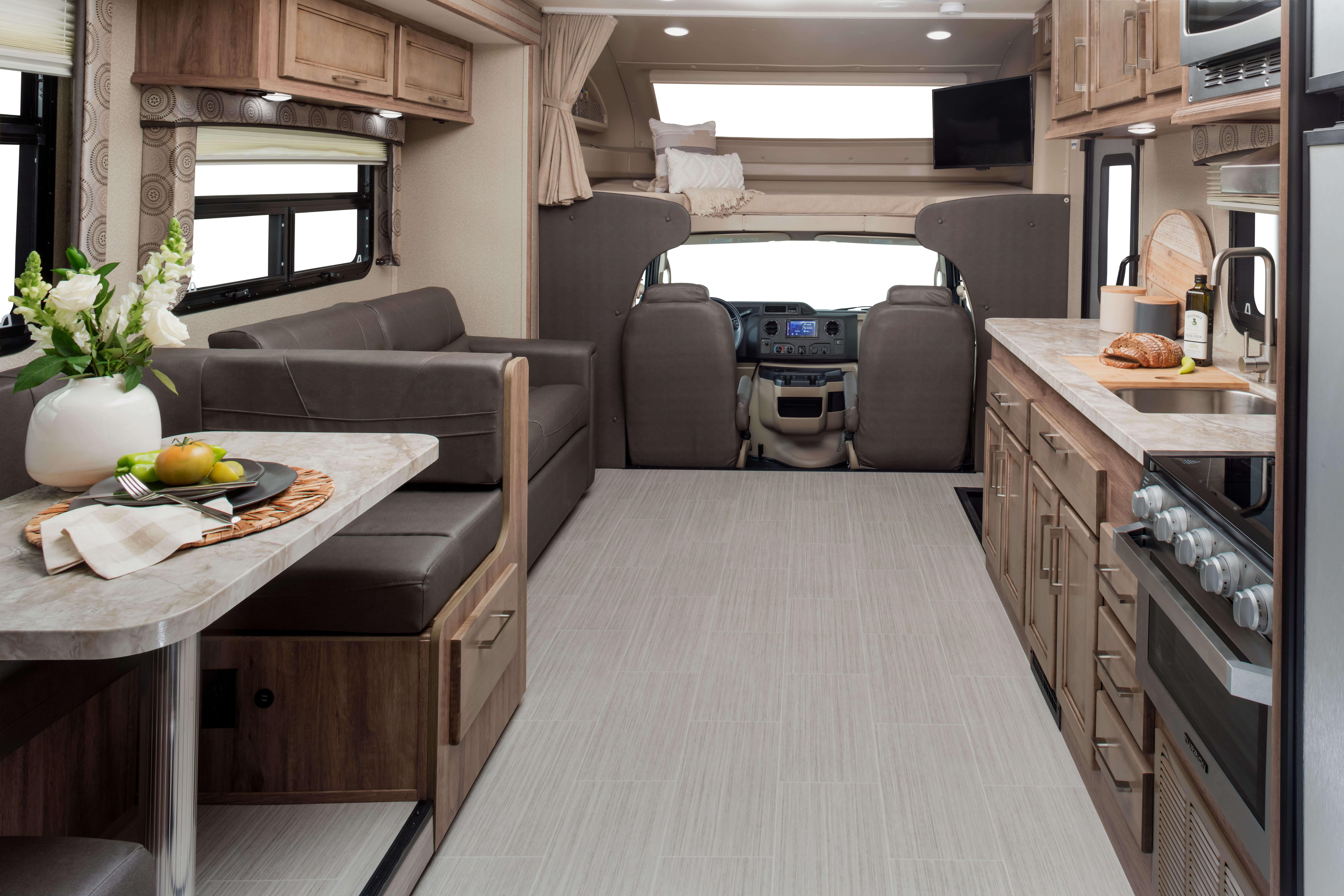 The 2020 Odyssey Class C Motorhome | Entegra Coach