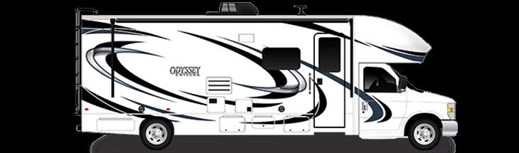 The 2020 Odyssey Class C Motorhome Entegra Coach