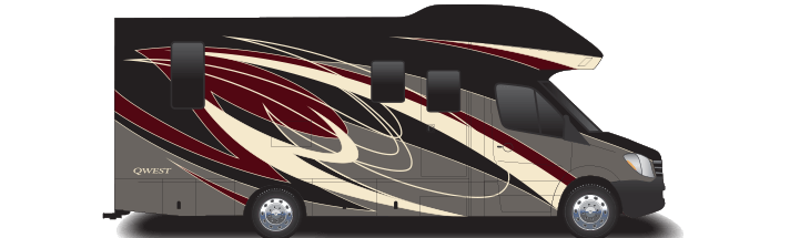 The 2020 Qwest Class C Motorhome | Entegra Coach