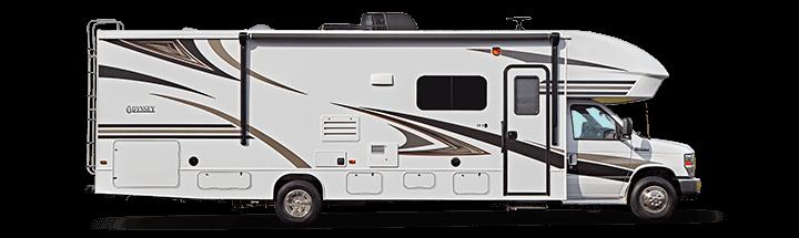 The 2019 Odyssey Class C Motorhome Entegra Coach